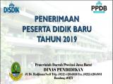 INFO PPDB 2019